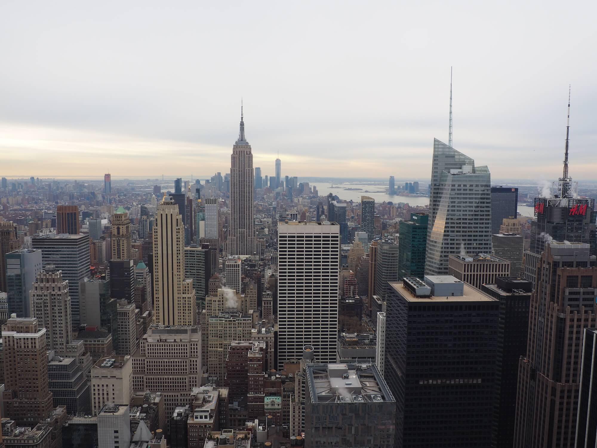 Skyline New York USA