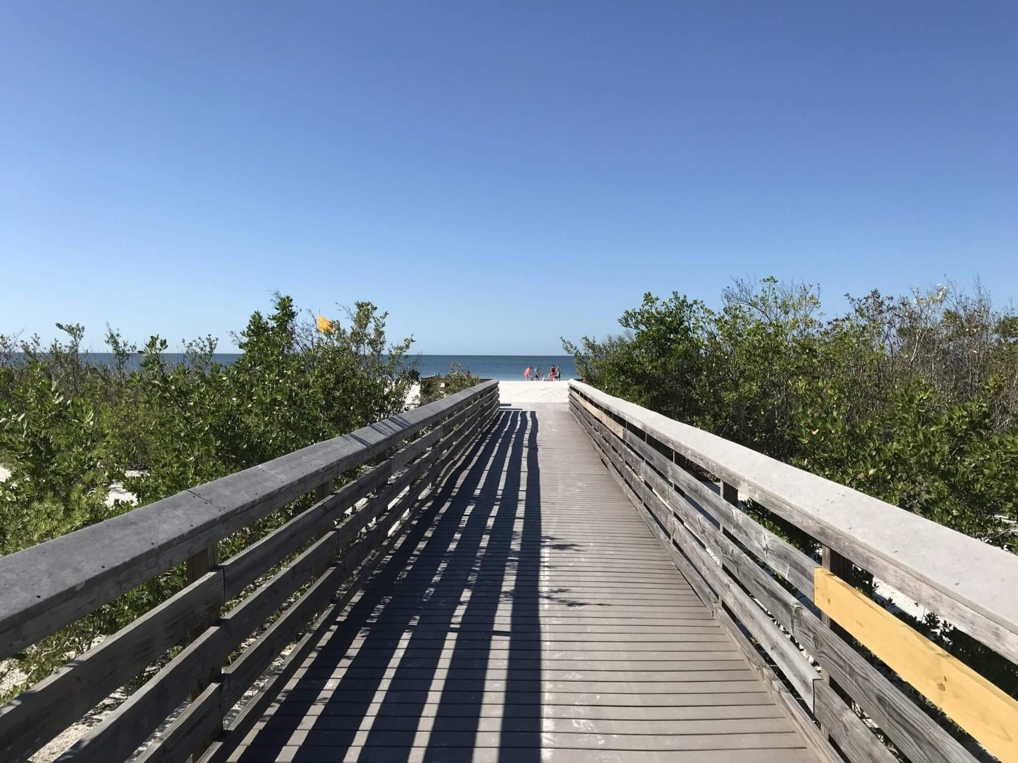 Brücke im Lovers Key State Park