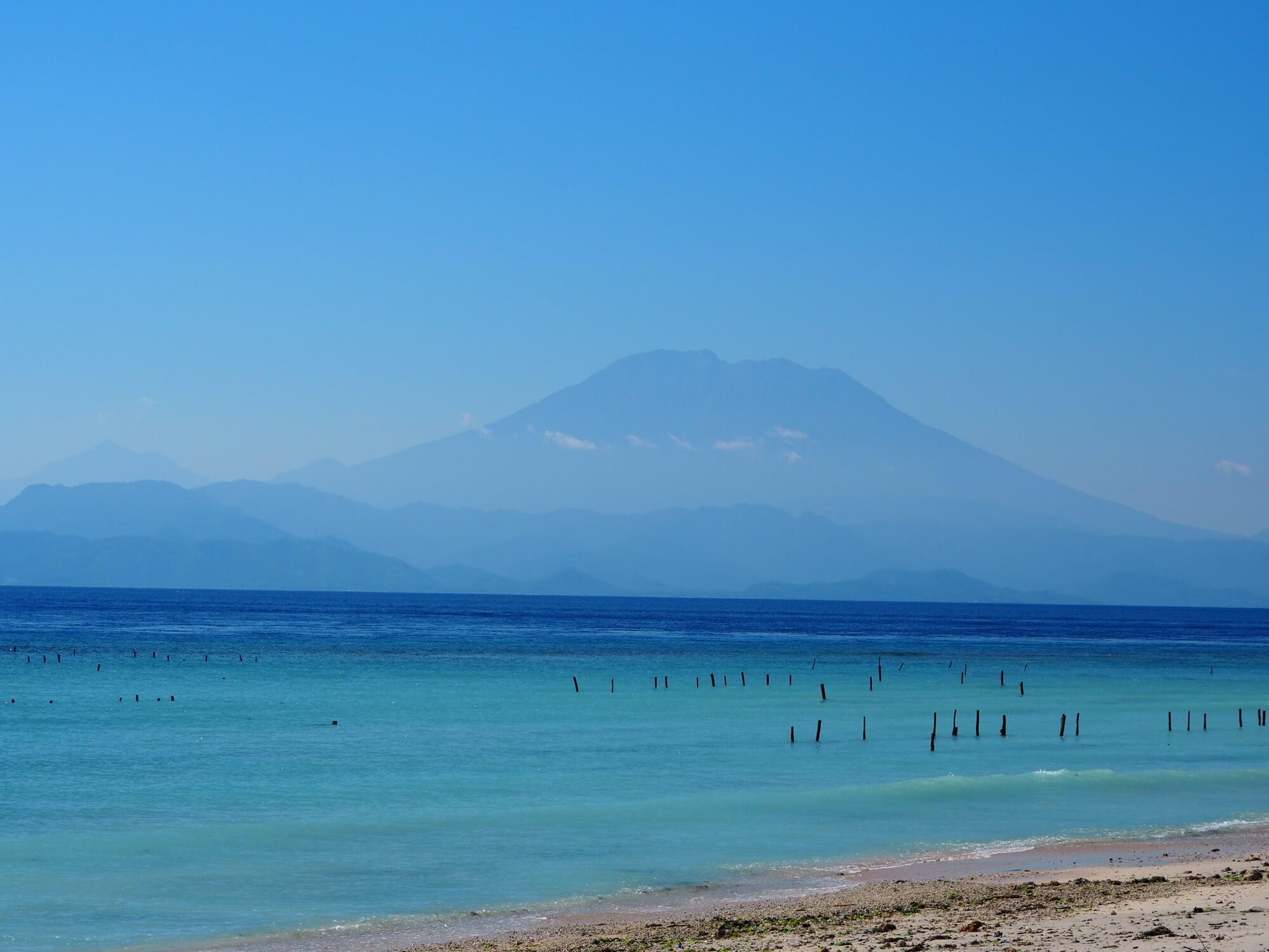 Blick nach Bali
