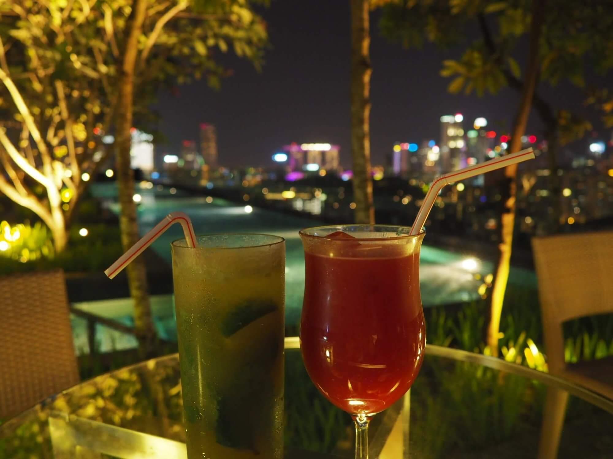Cocktail im Jen Orchardgateway