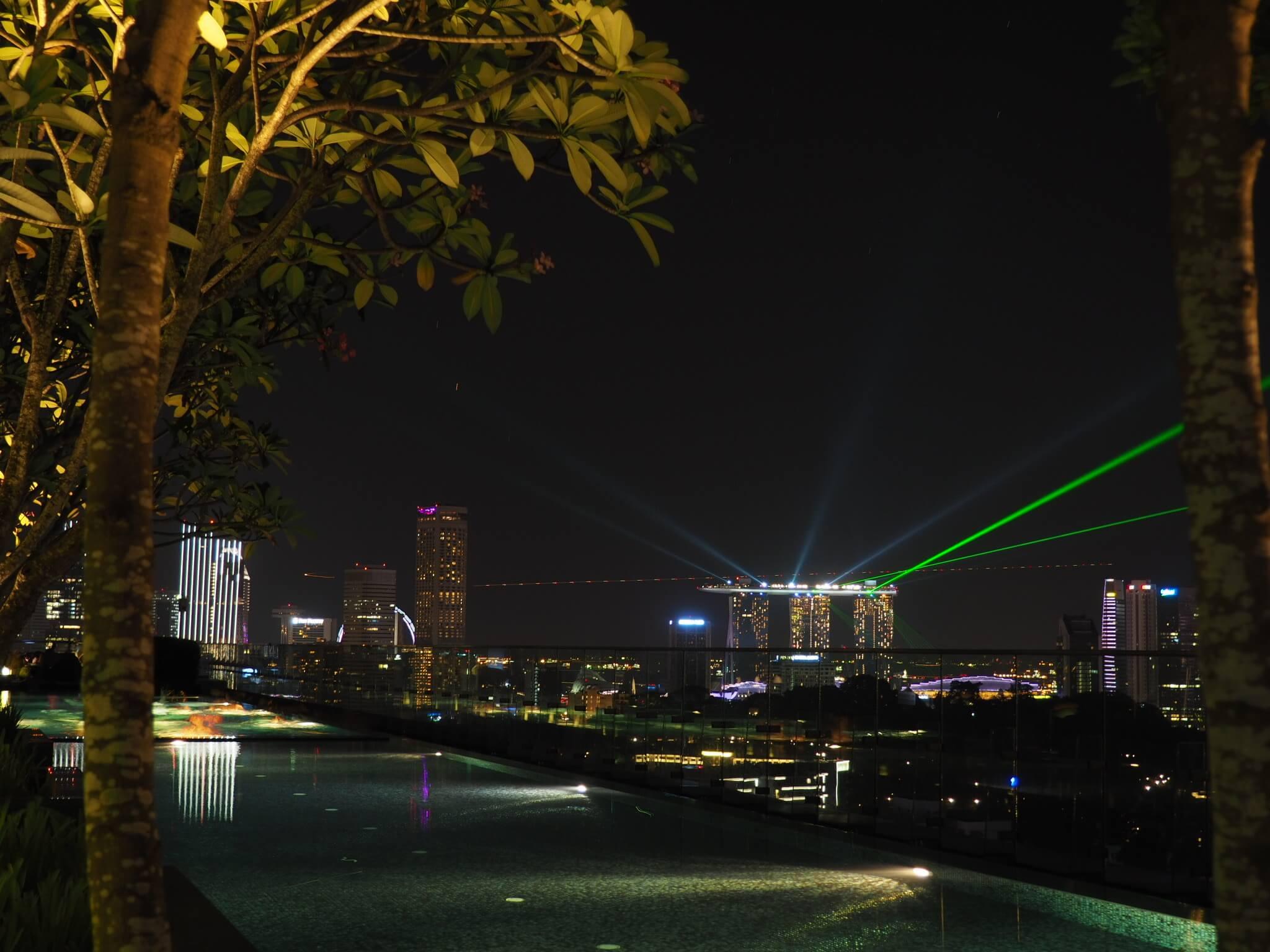 Lasershow Marina Bay Sands vom Jen Orchardgateway