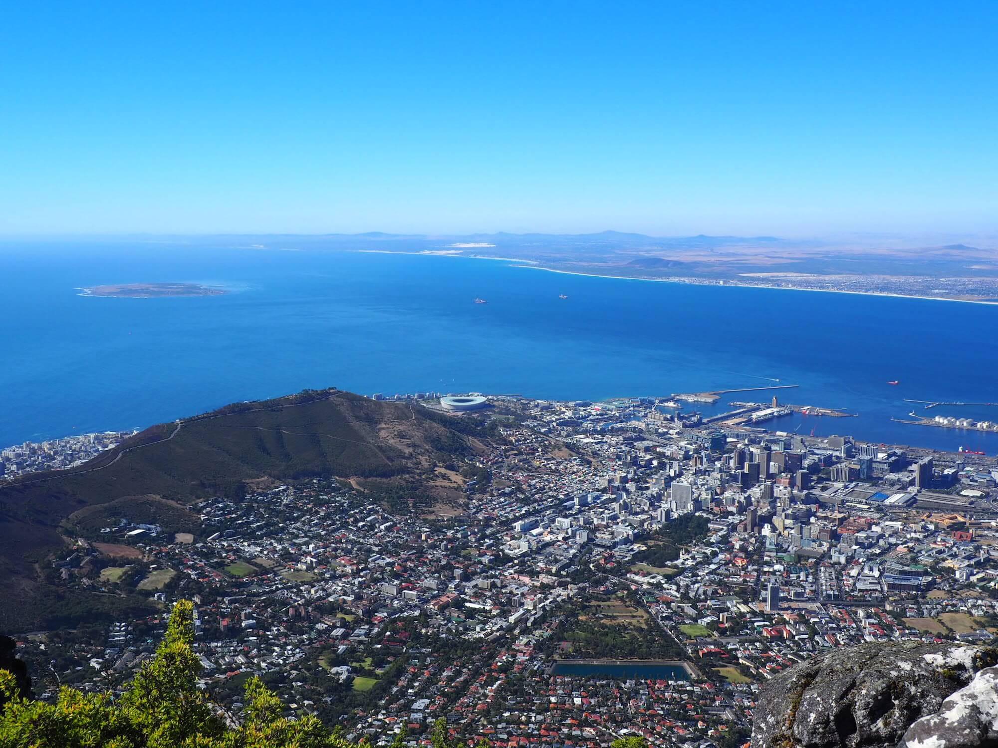 Ausblick Tafelberg