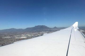 Anflug nach Kapstadt