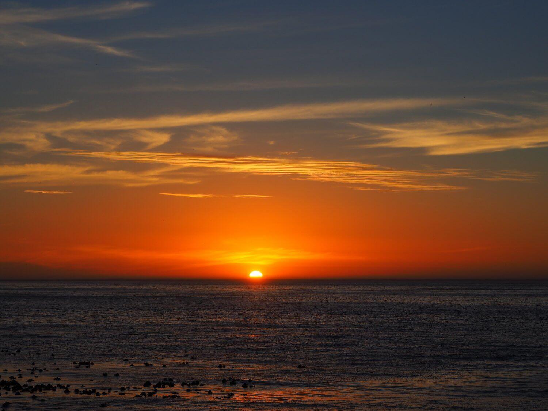 Sonnenuntergang Kapstadt
