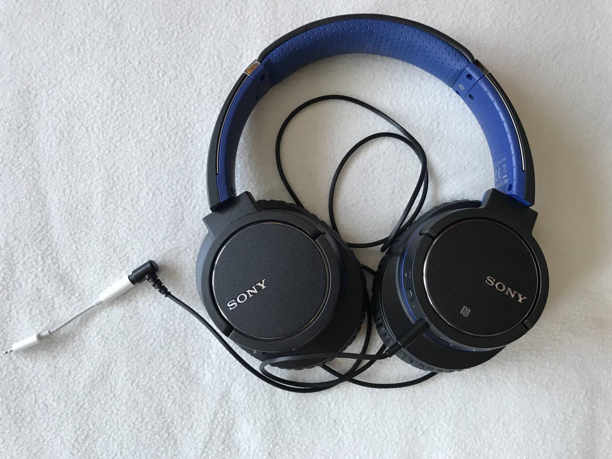 Kopfhörer mit Lightning Adapter