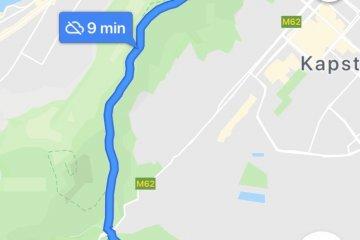 Vorschau von Google Maps