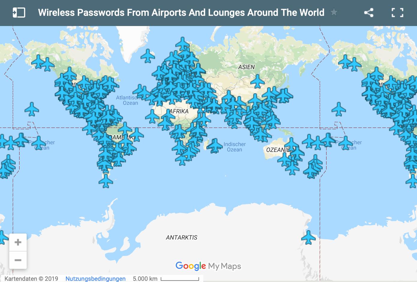 Karte von foxnomad.com