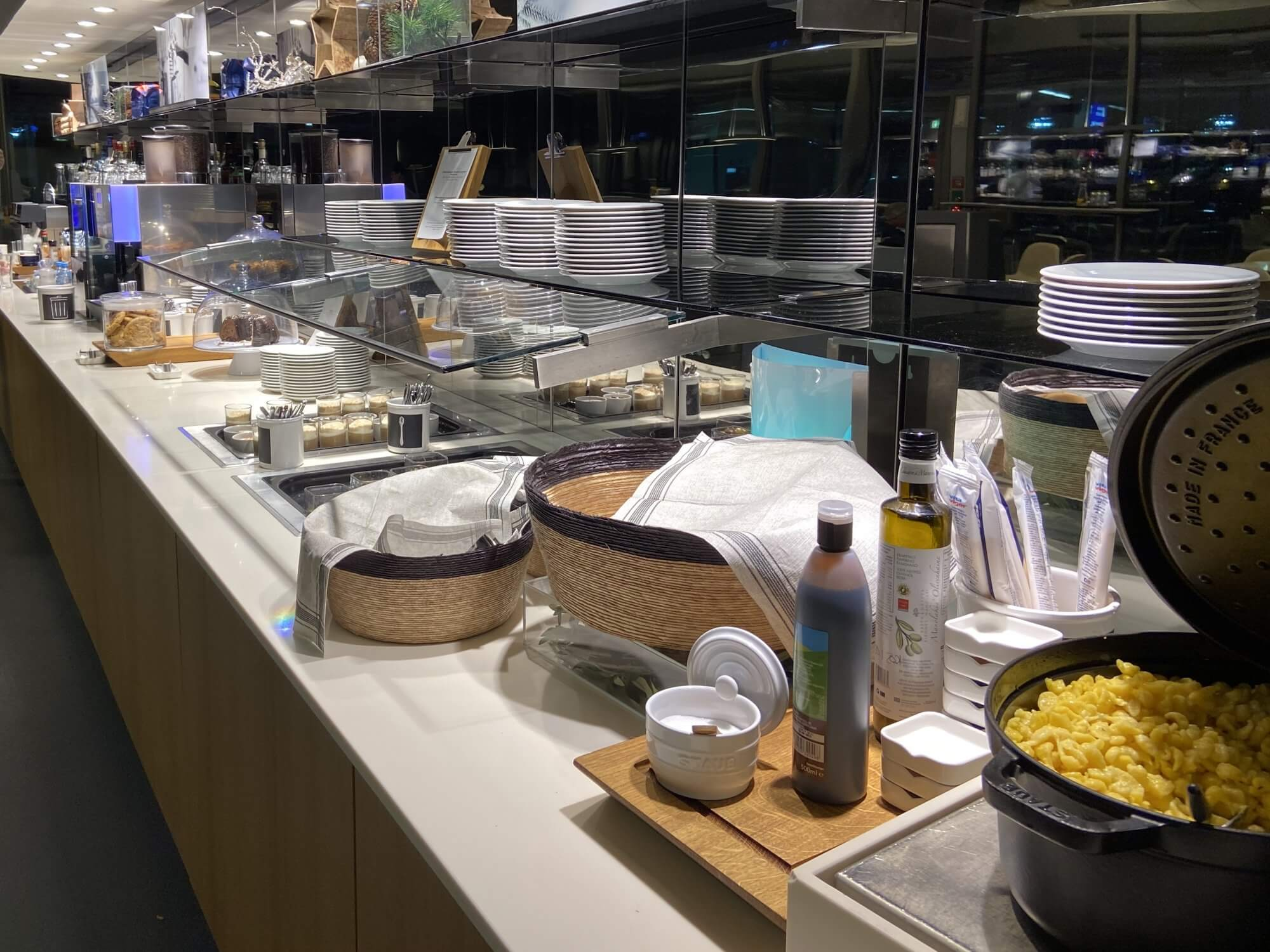 Buffet Business Lounge