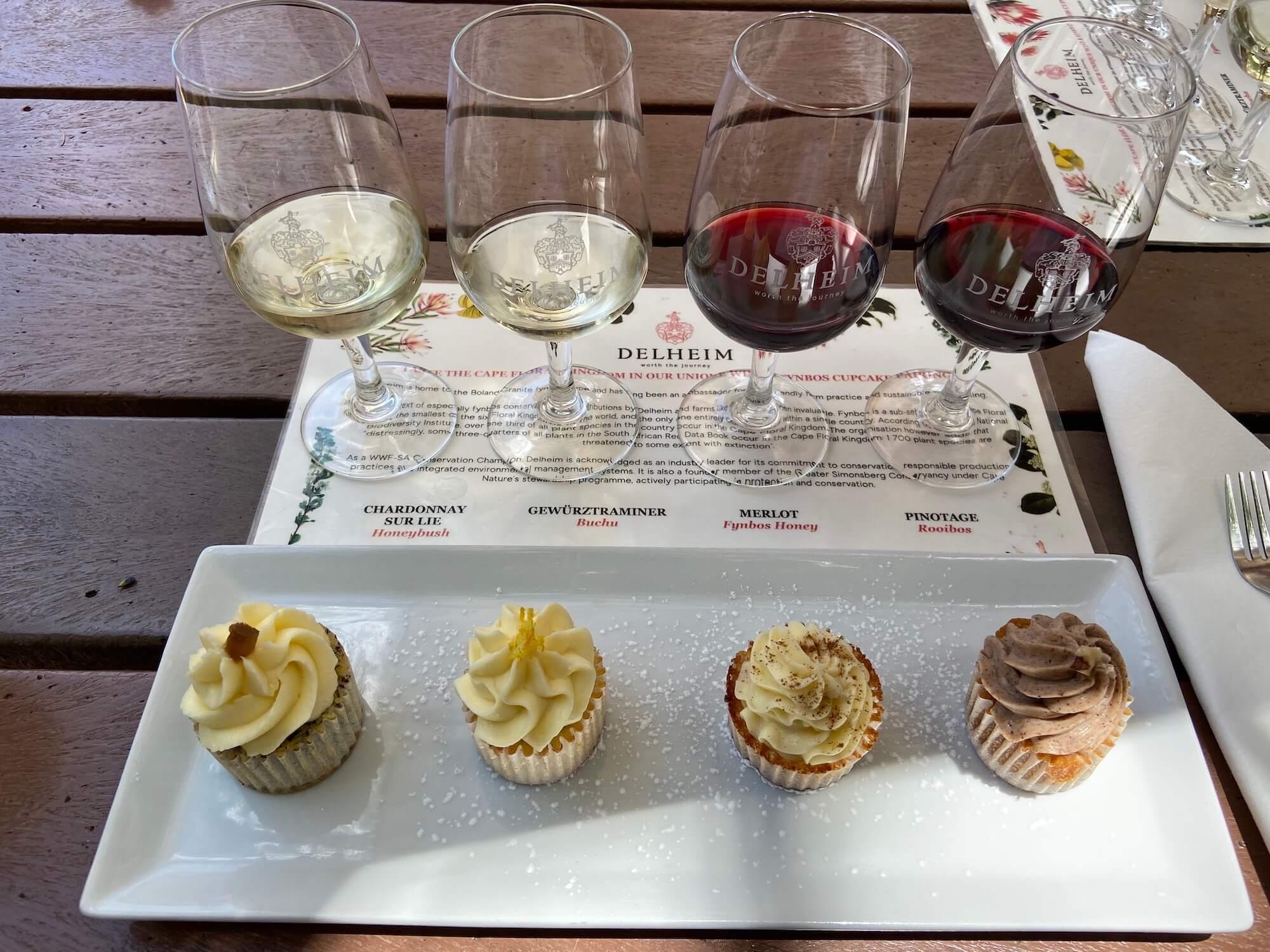 Winetasting mit Cupcakes