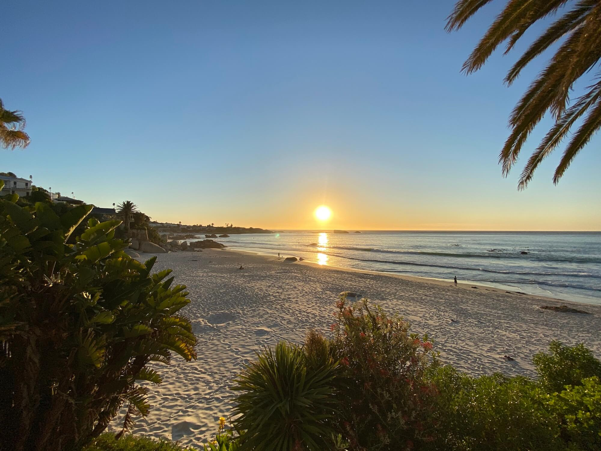 Sonnenuntergang Clifton