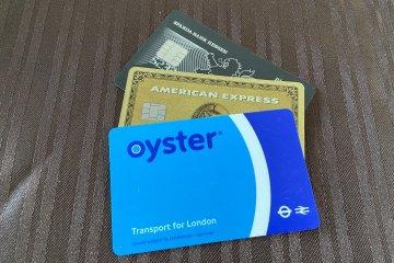Oystercard, Kreditkarte in London nutzen