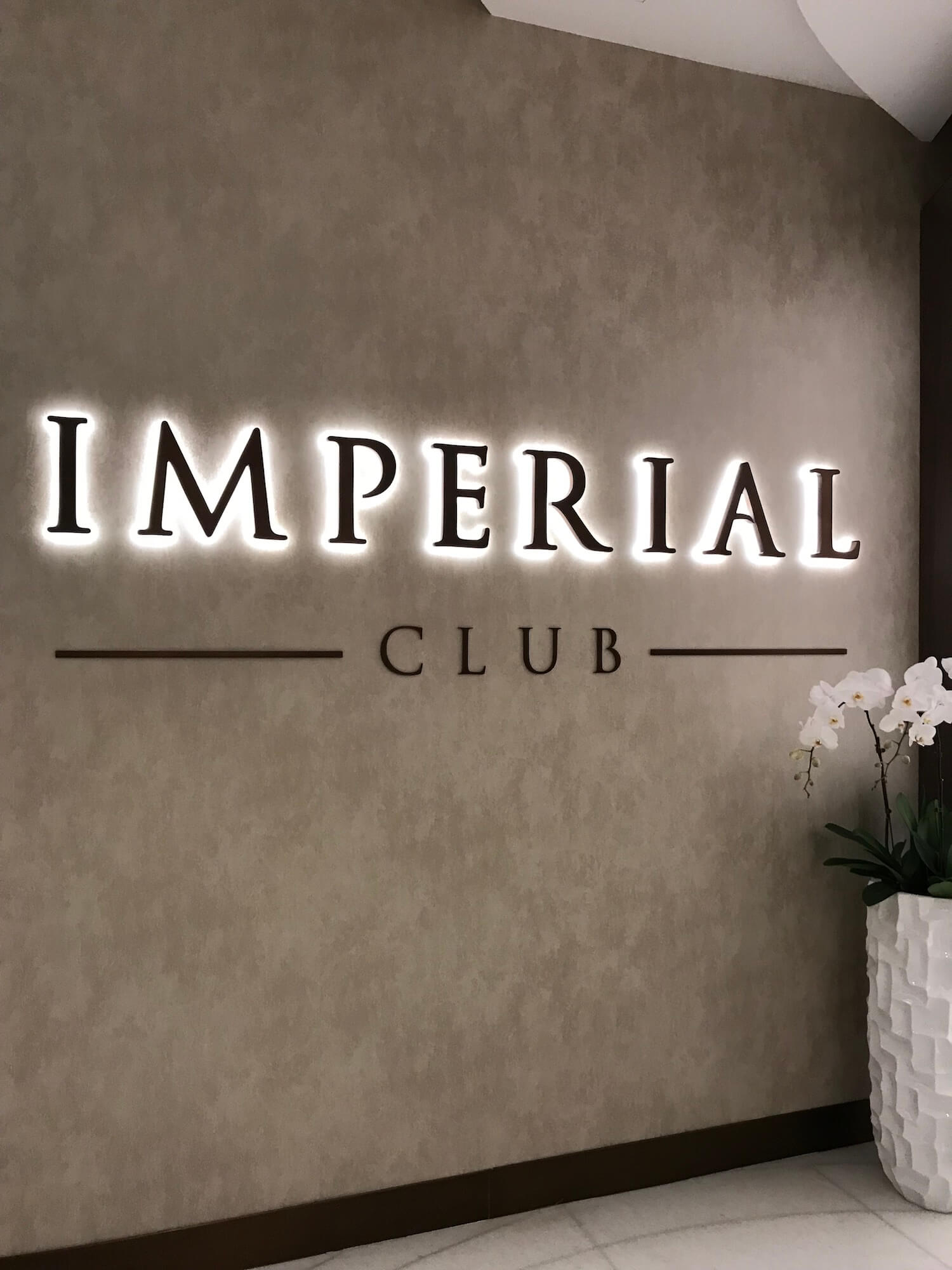 Eingang Imperial Club