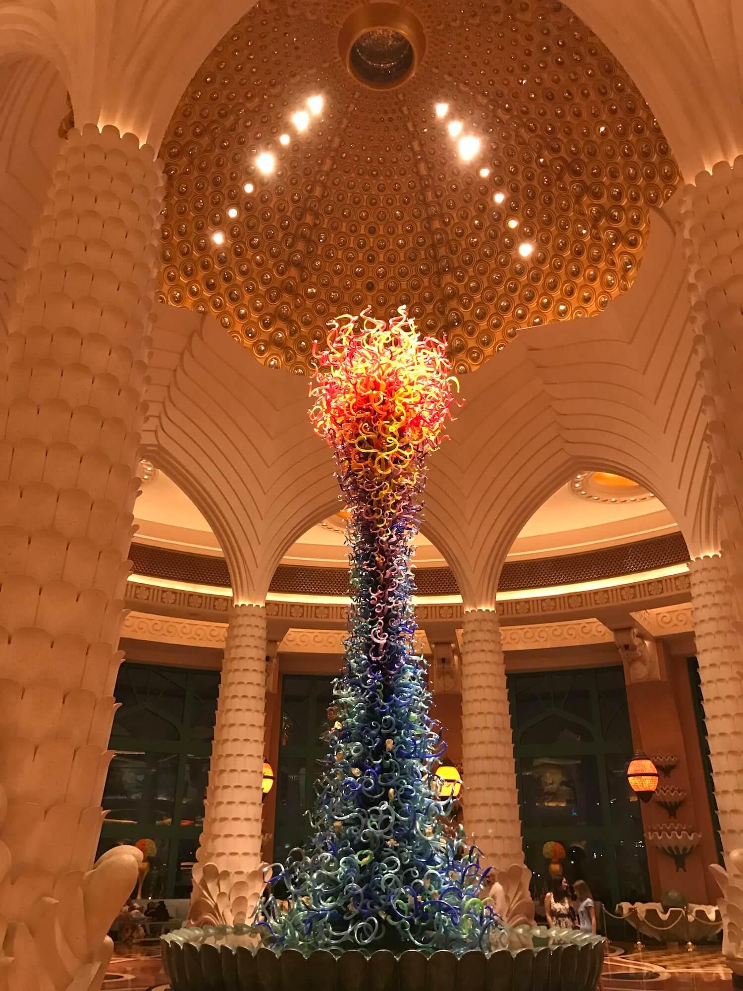 Eingangshalle Atlantis Dubai