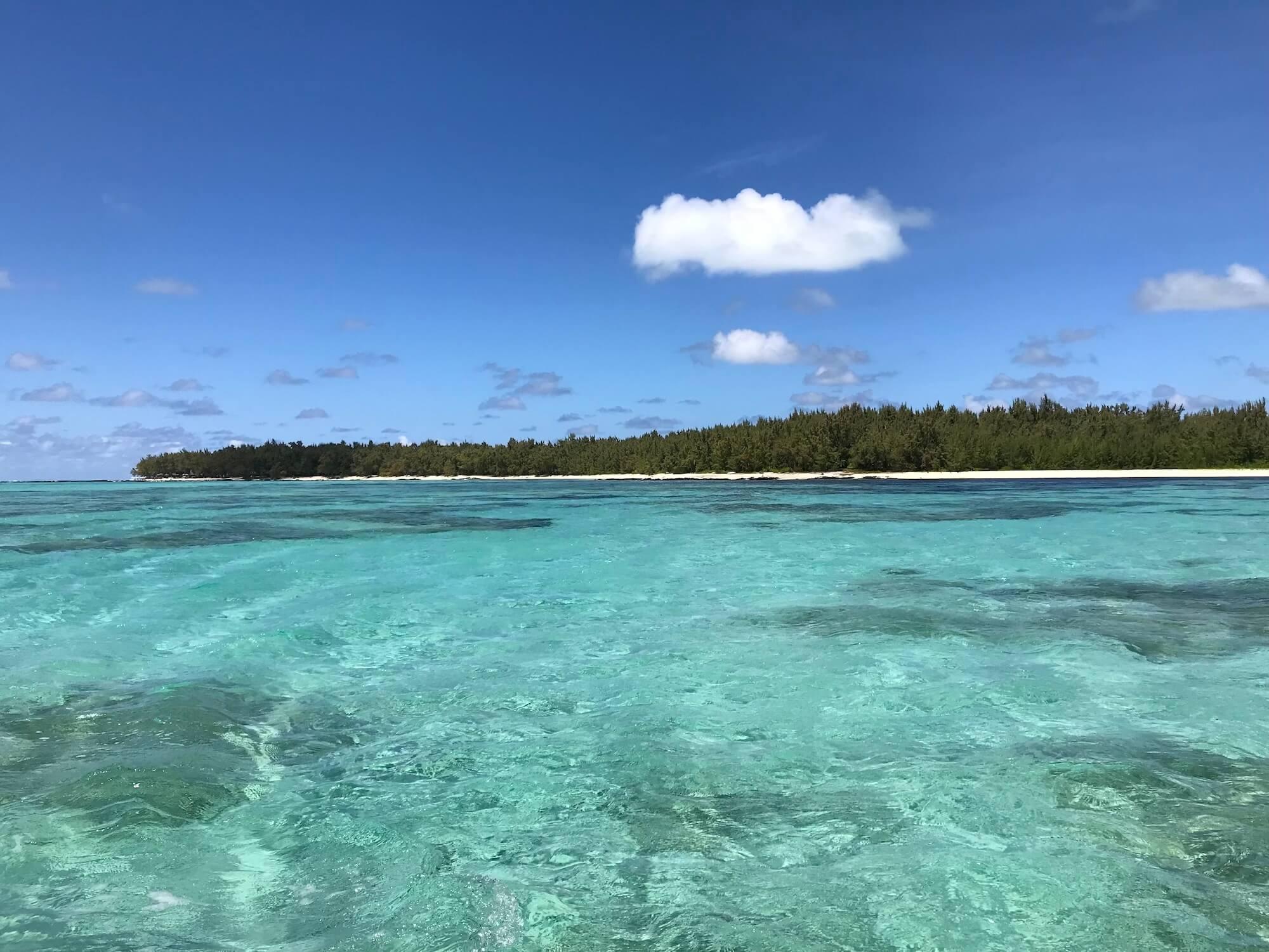 Insel Ilot Mangenie
