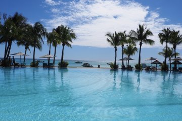 Pool vom Paradis Beachcomber