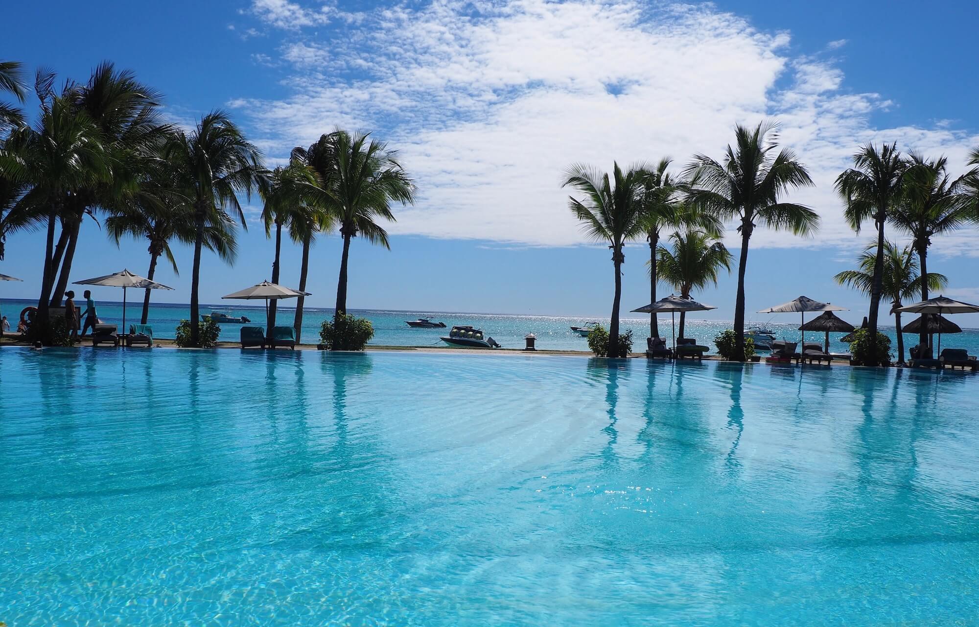 Pool vom Paradis Beachcomber