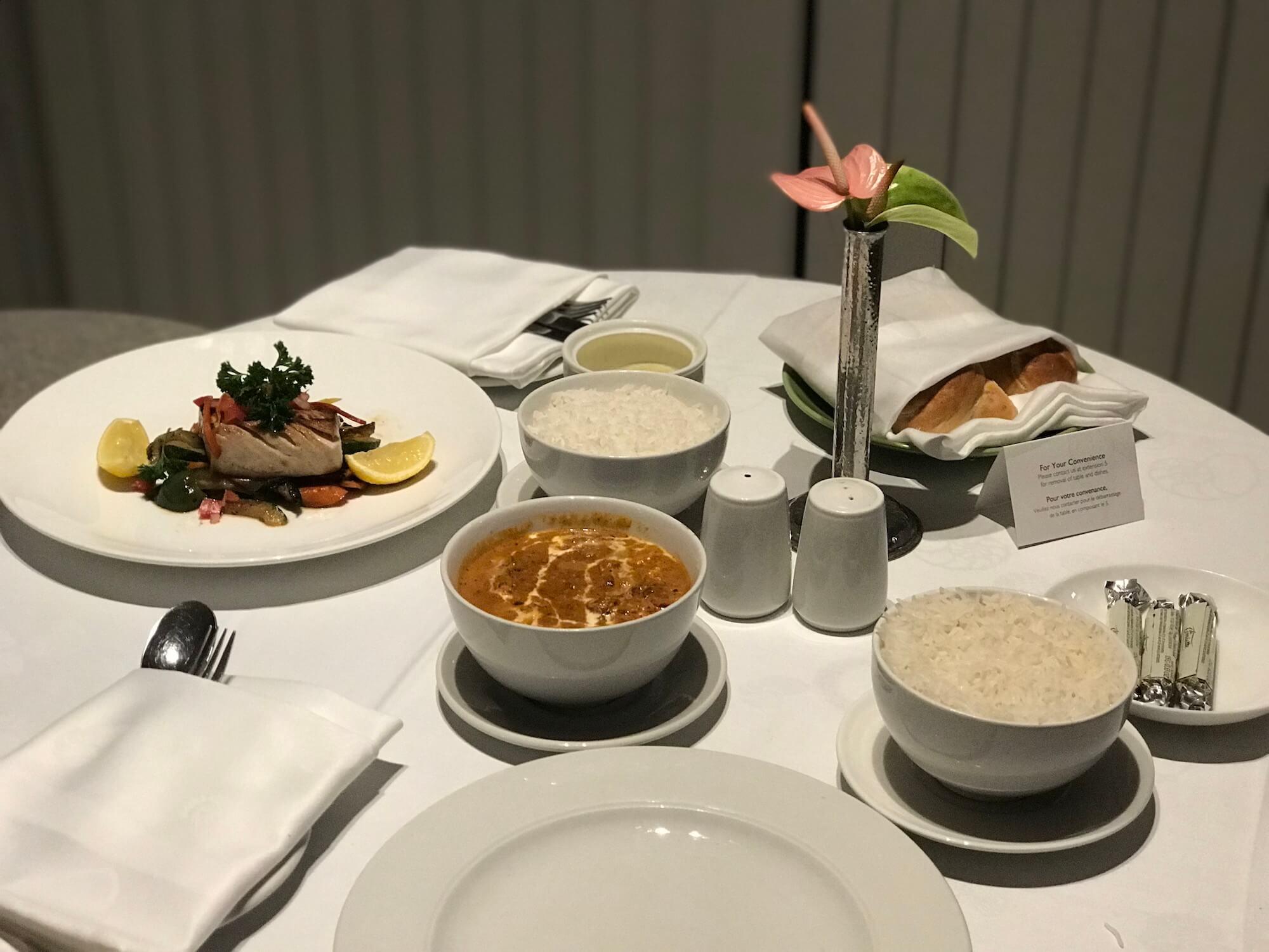 Abendessen Shangri-La