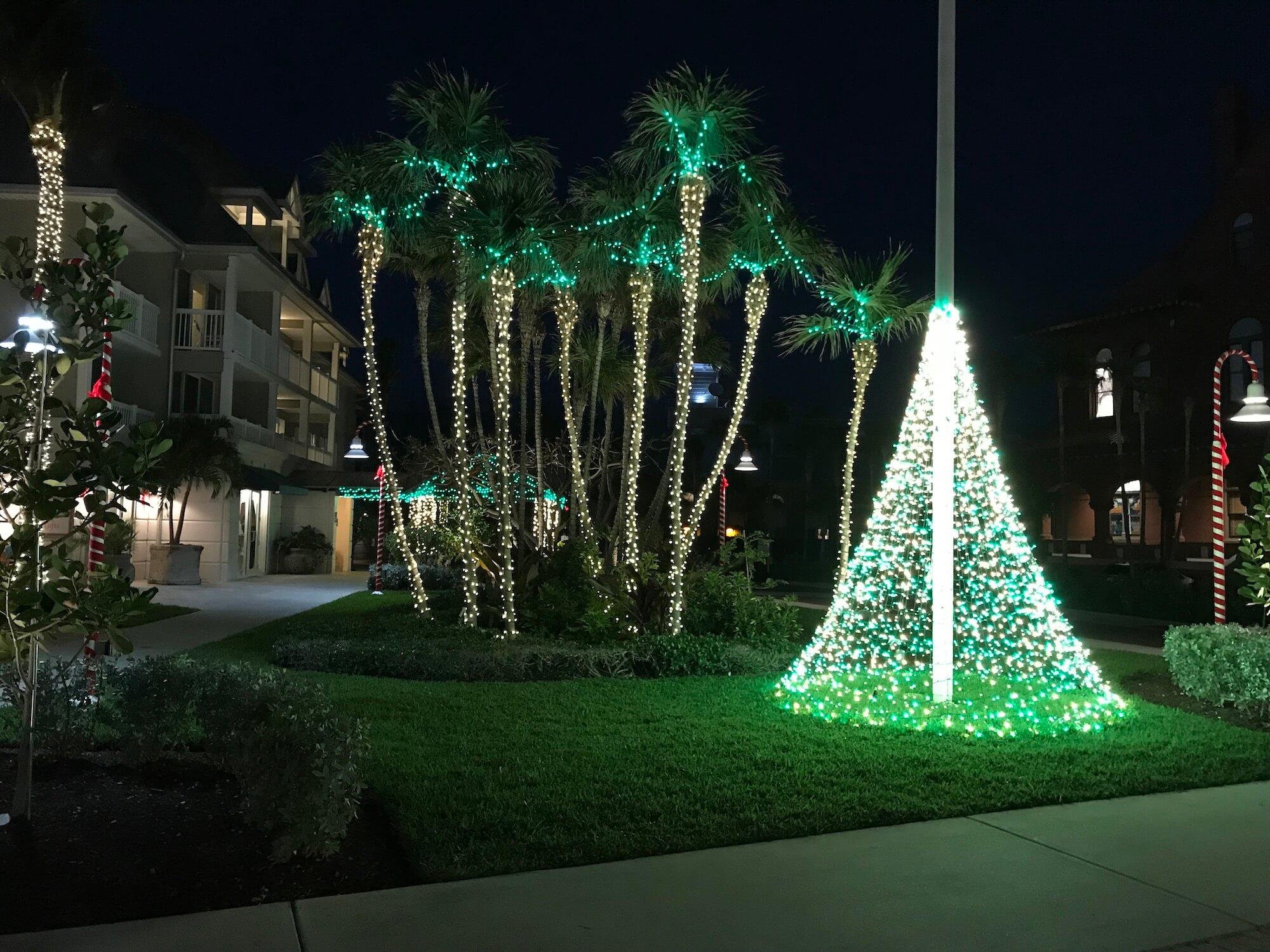 Weihnachtliche Deko in Key West